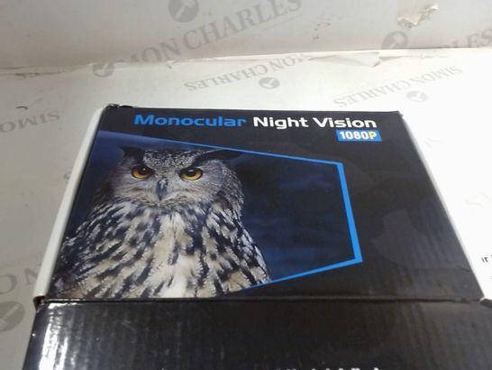 NIGHT VISION 1080P MONOCULAR