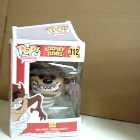 BOXED POP! ANIMATION LOONEY TUNES TAZ FIGURE 312
