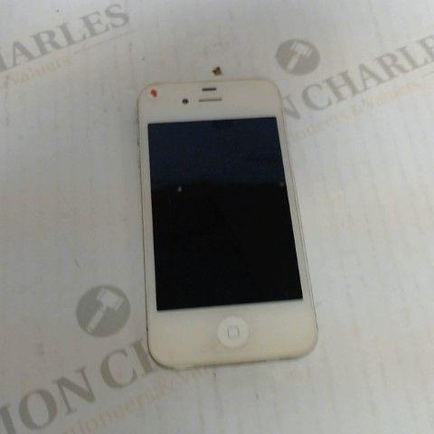 APPLE IPHONE 4S 2011 WHITE