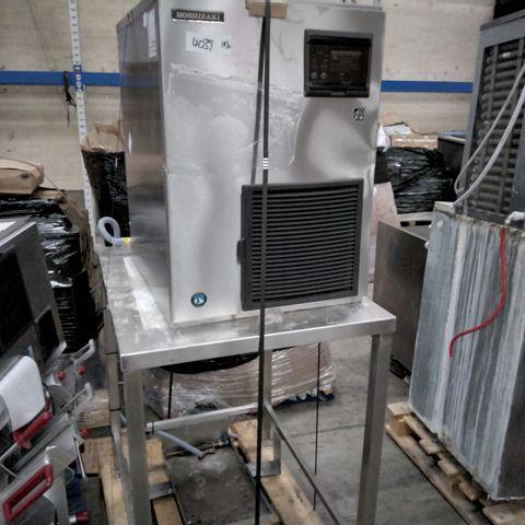 HOSHIZAKI COMMERCIAL FREESTANDING ICE MACHINE MODEL FM-480AKE & TABLE