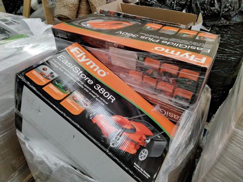PALLET OF APPROXIMATELY 18 ASSORTED LAWNMOWERS  & GARDENING TOOLS, INCLUDING,