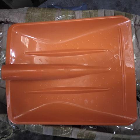 BOX OF ASSORTED PLASTIC SHOVEL HEADS