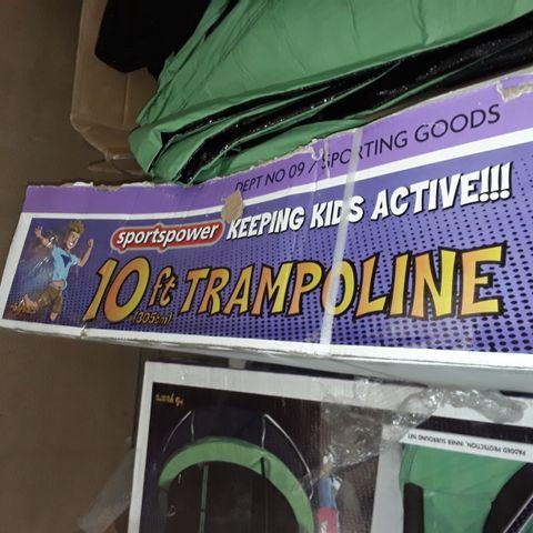 SPORTS POWER 10FT TRAMPOLINE