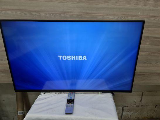 TOSHIBA 43U6763DB 43 INCH SMART TELEVISION