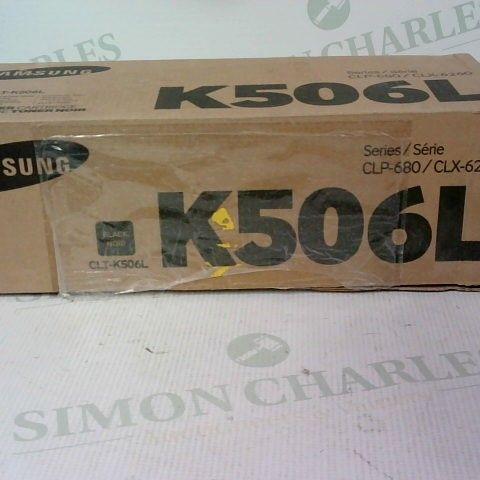 SAMSUNG BLACK TONER CARTRIDGE K506L SERIES CLP-680