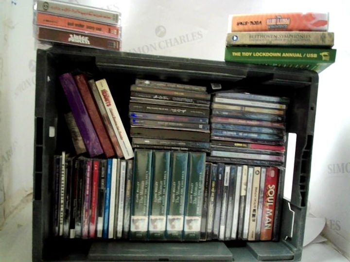 LOT OF APPROXIMATELY 46 ASSORTED CD'S TO INCLUDE; LED ZEPPELIN, STEPS, QUEEN ETC