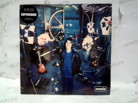 """OASIS SUPERSONIC REMASTERED RECORD STORE DAY EXCLUSIVE 12"""" VINYL"""