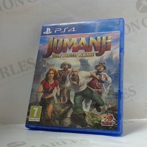 JUMANJI PLAYSTATION 4 GAME