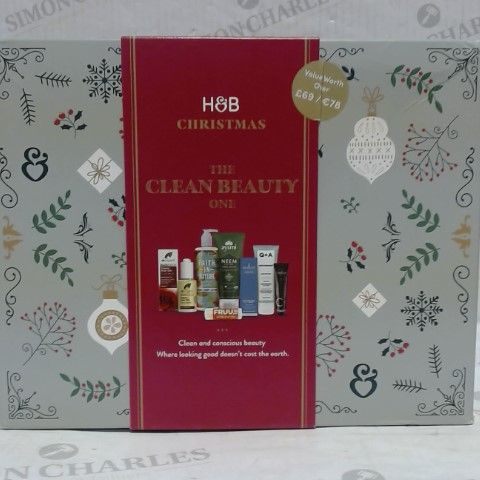 HOLLAND & BARRETT THE CLEAN BEAUTY ONE GIFT BOX