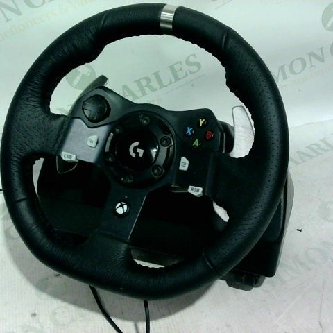 LOGITECH G920 DRIVING FORCE RACING WHEEL & PEDAL SET FOR PC/MAC, XBOX ONE