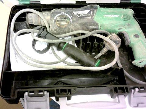 HIKOKI HIKDH26PX2 26MM SDS-PLUS ROTARY HAMMER DRILL 230V, 230 V