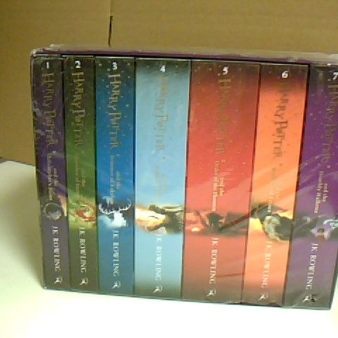 J.K ROWLING HARRY POTTER THE COMPLETE COLLECTION INCLUDES 7 BOOKS