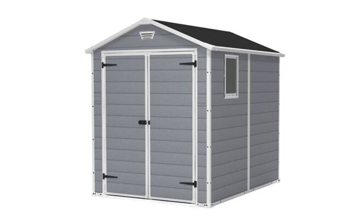 BOXED KETER MAINTAINANCE FREE SHED 6 × 8