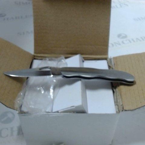 BOX OF APPROXIMATELY 240 PK9836 SMALL POCKET KNIVES