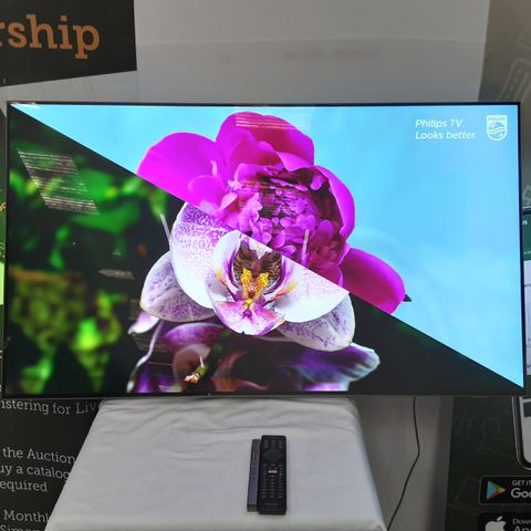 PHILIPS 55OLED803 55 INCH OLED 4K HDR SMART TELEVISION