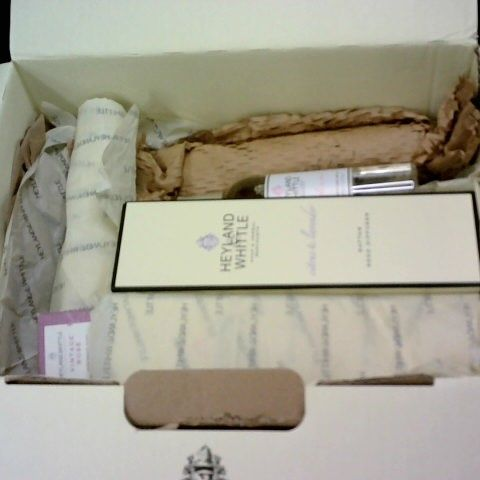 HEYLAND & WHITTLE 6-PIECE SOAP AND FRAGRENCE SET