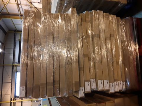 PALLET OF 20 BRAND NEW BOXED GEORGE HOME RAFFERTY SINGLE BED PARTS- BOX 1 OF 2 ONLY