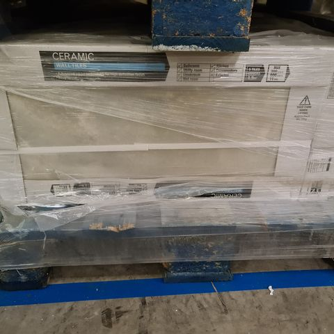 PALLET OF APPROXIMATELY 20 BRAND NEW CARTONS OF 5 ONYX VERDE STONE GLOSS WALL TILES - 60X30CM
