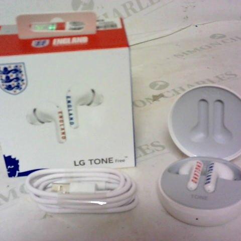 LG TONE FREE ENGLAND FOOTBALL CLUB BRANDED WIRELESS EARPHONES