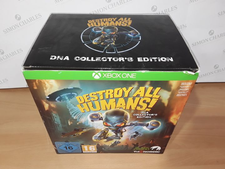 DESTROY ALL HUMANS DNA COLLECTORS EDITION FOR XBOX ONE