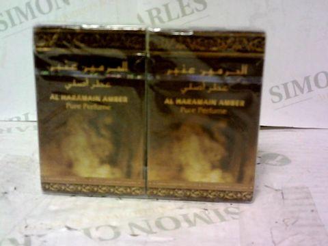 2 AL HARAMAIN AMBER PURE PERFUME 15ML