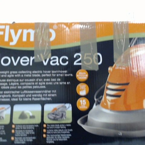 FLYMO HOVER VAC 250 ELECTRIC HOVER COLLECT LAWNMOWER