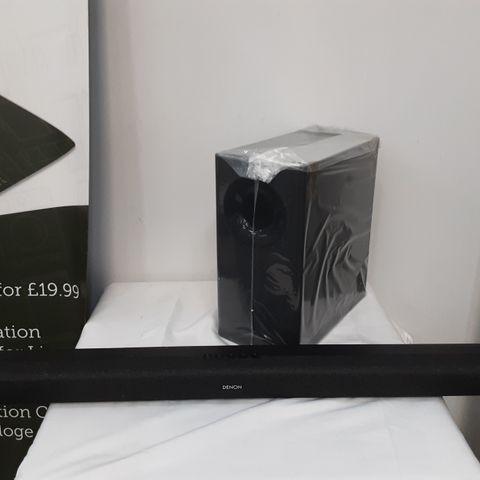 DENON DHT-S416 HOME THEATRE SOUND BAR SYSTEM - BLACK