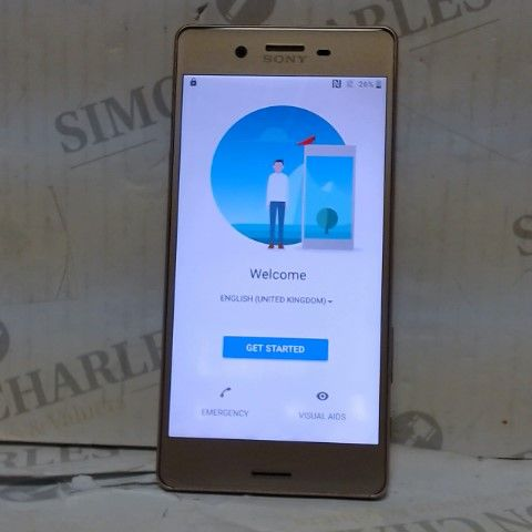 SONY XPERIA SMARTPHONE (EXACT MODEL UNKNOWN)