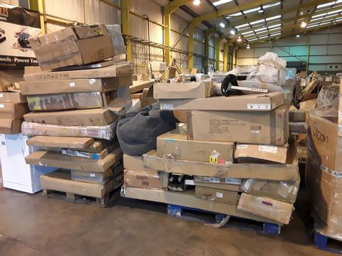 2 PALLETS OF ASSORTED FLATPACK FURNITURE AND PARTS