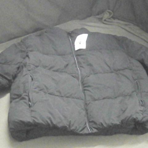 ZARA BLACK PUFFER COAT XL