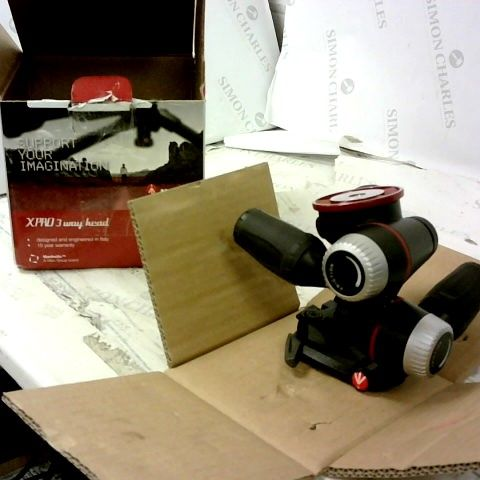 MANFROTTO XPRO 3 WAY HEAD