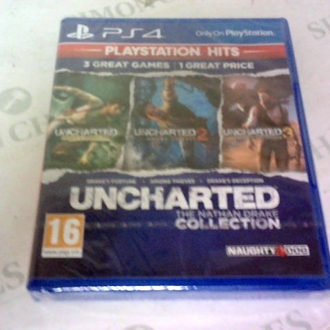 UNCHARTED THE NATHAN DRAKE COLLECTION PLAYSTATION 4 GAME