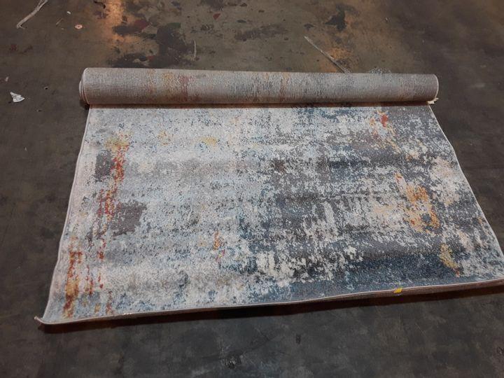 SYDNEY NADINE DISTRESSED BLUE RUG 160X220