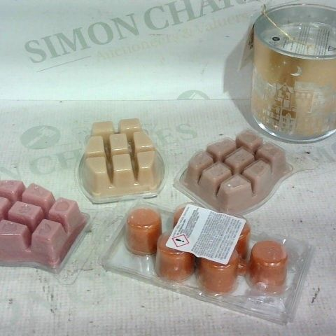 LOT OF APPROX. 17 ASSORTED ITEMS TO INCLUDE: WAX MELTS, ASSORTED BULBS, CANDLES