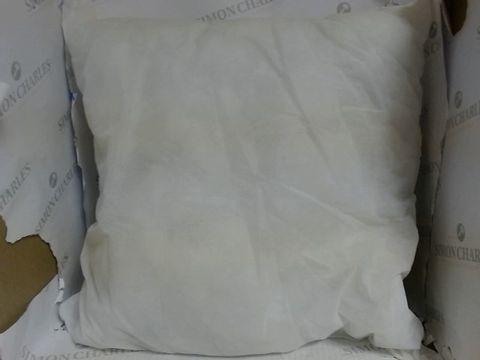 BOX OF 4 WHITE PILLOWS