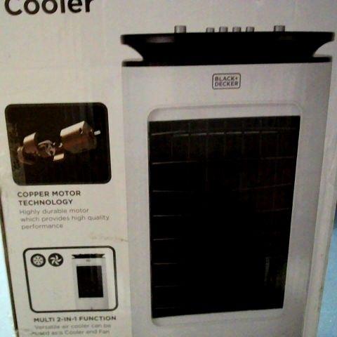 BLACK+DECKER BXAC65001GB MANUAL AIR COOLER, HUMIDIFIER AND PURIFIER