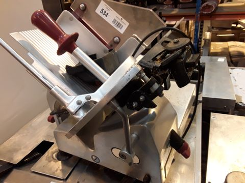 BERKEL AVERY CORTADORA RP-M301CE ELECTRIC MEAT SLICER
