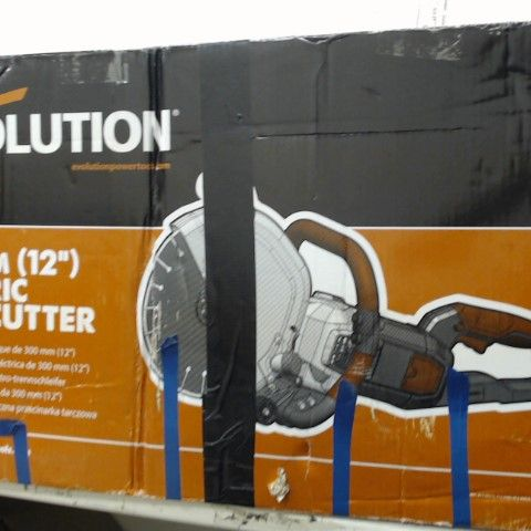EVOLUTION 300MM 12 INCH ELECTRIC DISC CUTTER