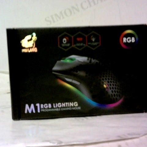 ZYOU LANG M1 RGB LIGHTING PROGRAMMABLE GAMING MOUSE