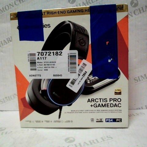 BOXED STEELSERIES ARCTIS PRO GAMEDAC - GAMING HEADSET