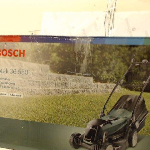 BOSCH CORDLESS LAWNMOWER EASYROTAK 36-550