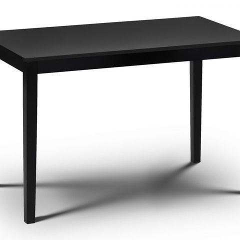 JULIAN BOWEN HUDSON DINING TABLE - BLACK