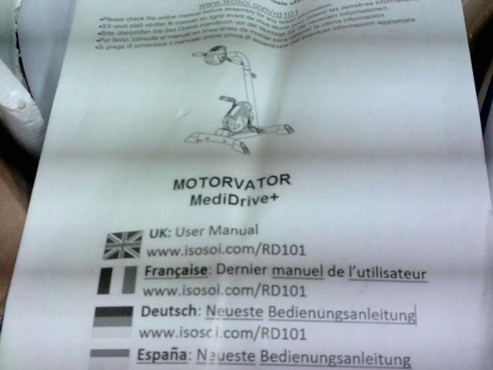 MOTORVATOR MEDI-DRIVE EXERCISE BIKE