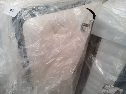 """QUALITY BAGGED 4'6"""" DOUBLE POCKET SPRUNG PILLOW TOP MATTRESS"""