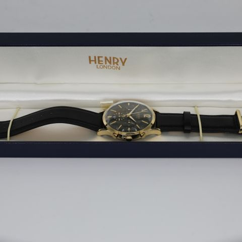 BRAND NEW BOXED HENRY LONDON HL41-CS-0106 CHISWICK WATCH