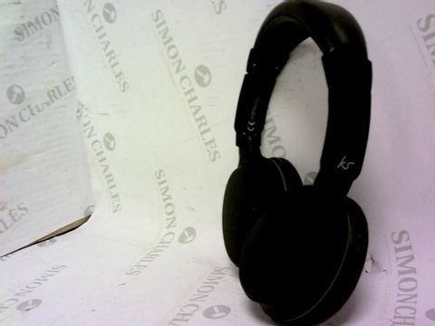 KS BLACK HEADPHONES
