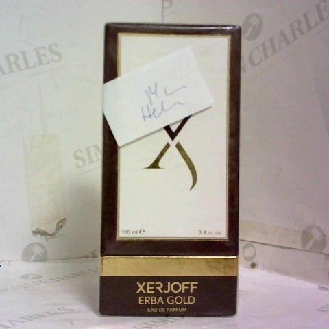 XERJOFF ERBA GOLD EAU DE PARFUM 100ML