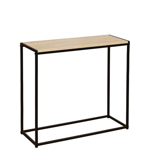 BOXED TELFORD INDUSTRIAL CONSOLE TABLE