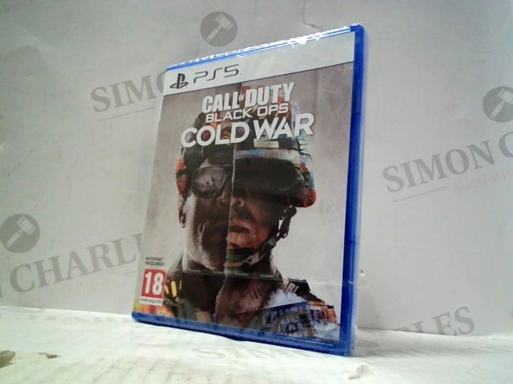 CALL OF DUTY: BLACK OPS - COLD WAR PLAYSTATION 5 GAME