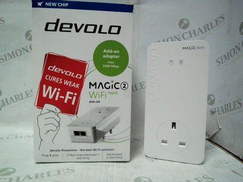 DEVOLO MAGIC 2–2400 WIFI NEXT: ULTIMATE ADD-ON POWERLINE WI-FI ADAPTER